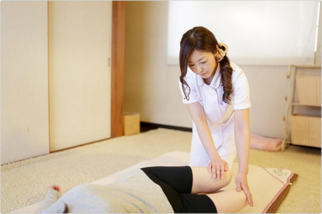 ⑥腰の痛み・状態・可動域を確認
