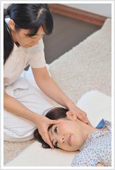 整顔レイキ(整顔矯正・小顔矯正)の施術